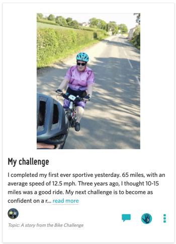 Bike Challenge Story