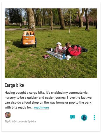 Cargo Bike Story