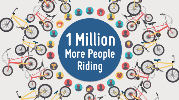 1 Million More People Riding