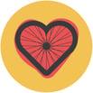 Heart-wheel
