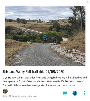 Brisbane Rider Story